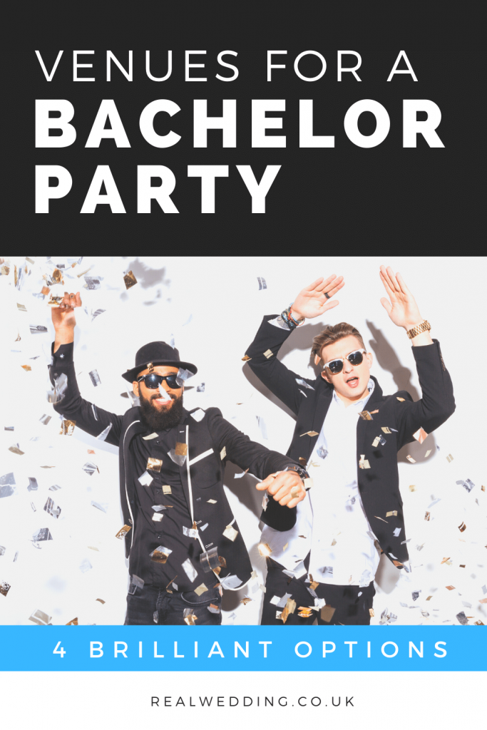 Venues For A Bachelor Party: 4 Great Options To Choose From