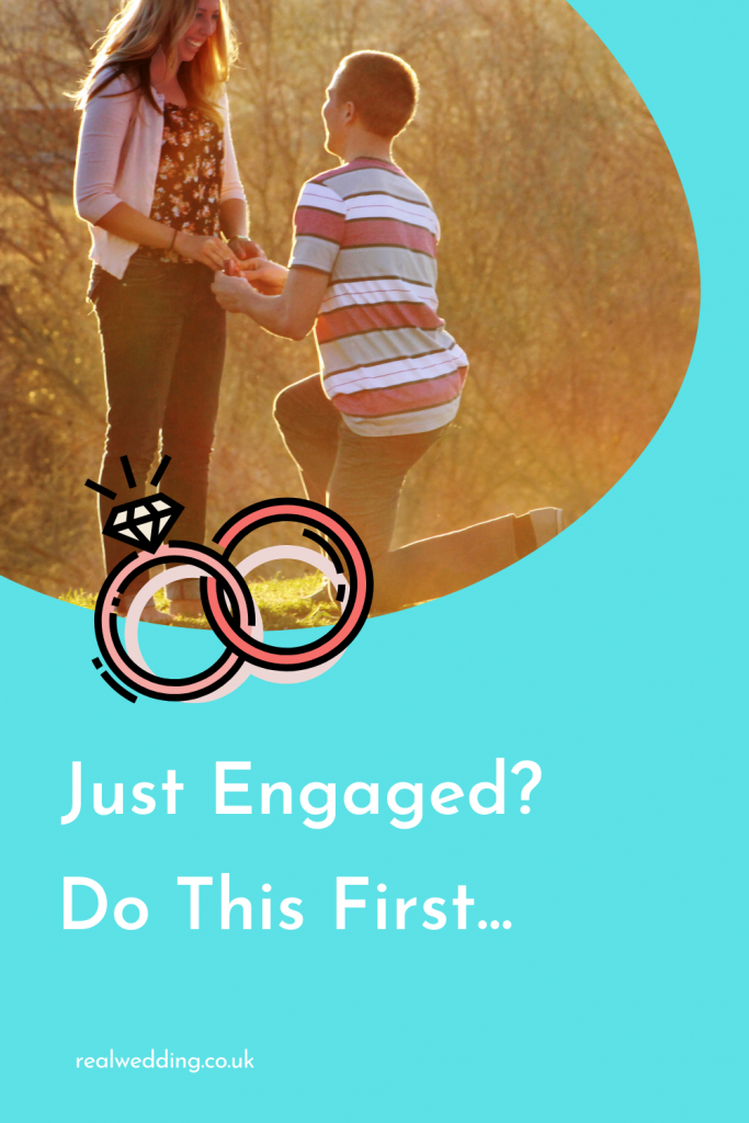 Just Got Engaged? Here's What You Need To Do First